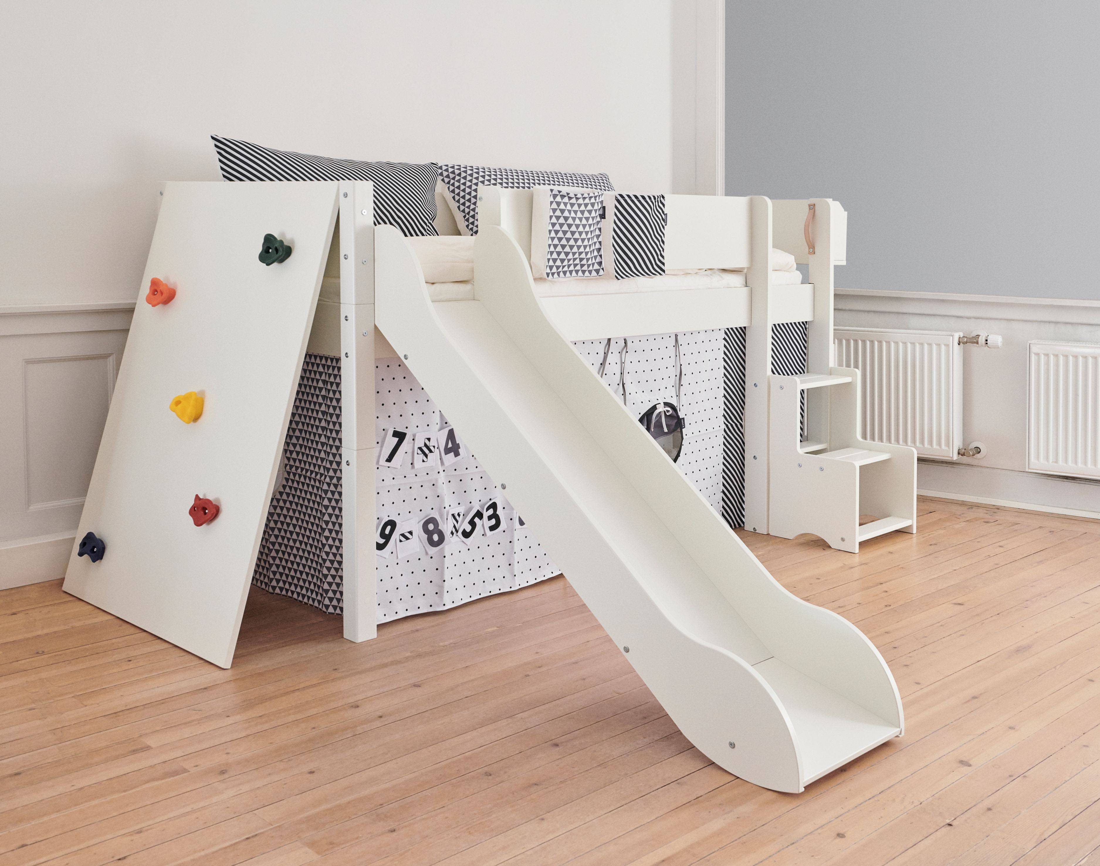 Manis-h Children's Bed with Slide